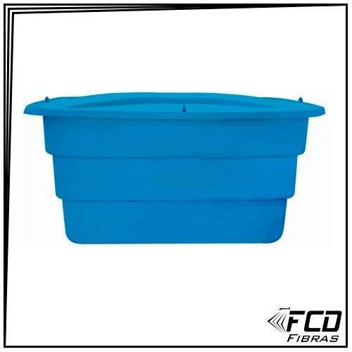 Caixa d'água fibra de vidro retangular