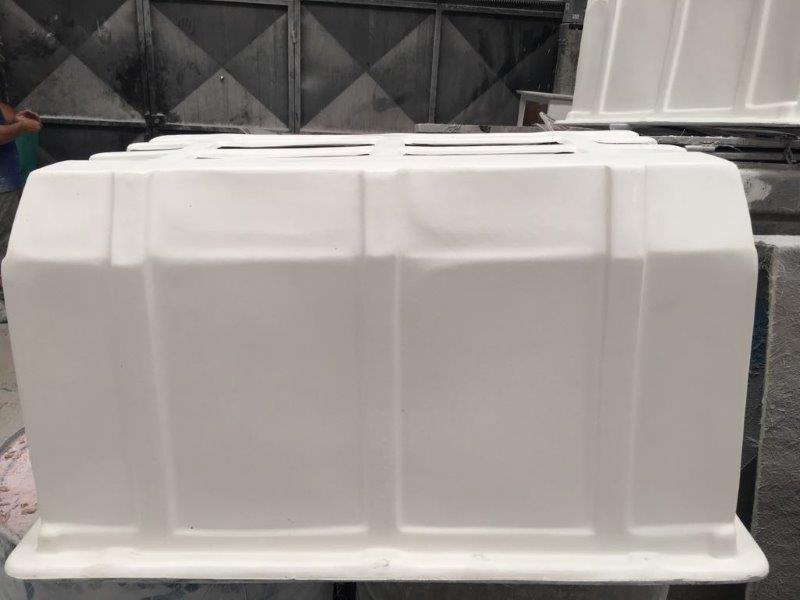 Caixa protetora de fibra