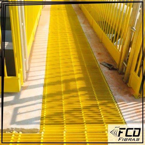 Fabricante de guarda corpo em fibra de vidro