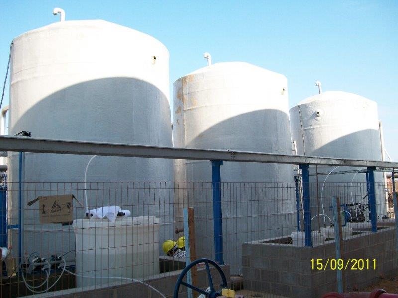 Tanques fibra de vidro para água