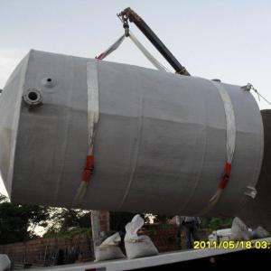 Reservatório de água em fibra de vidro